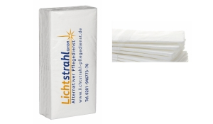 Taschentücher im Tampondruck