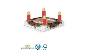 Lebkuchen Adventskranz