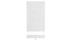 Frottiertuch Print - Handtuch (weiß)