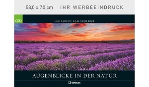 GEO SAISON: Augenblicke in der Natur 2022 (Kopflasche)