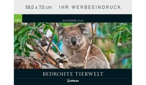 GEO: Bedrohte Tierwelt 2022 (Kopflasche)