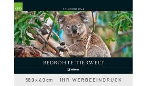 GEO: Bedrohte Tierwelt 2022 (Rückwand)