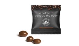 Arabica Kaffeebohne einzeln im Werbetütchen