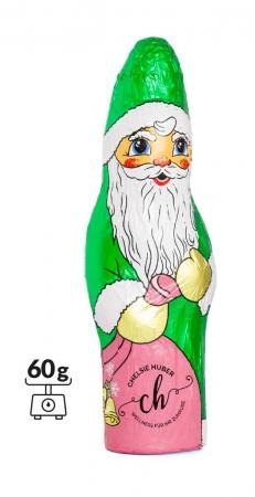 Schoko Weihnachtsmann individuell 60 oder 100 gr.