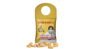 Geröstete Erdnüsse im Bottlebag