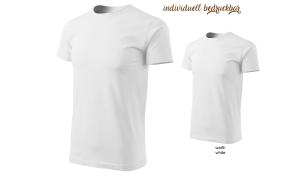 BASIC 129 Herren T-Shirt - weiß