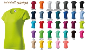 BASIC 134 Damen T-Shirt - farbig
