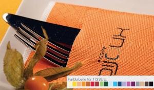 Dinner-Pocket-Napkin® aus Tissue Deluxe