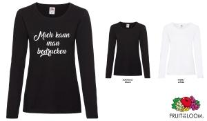 Ladies Valueweight Langarm T-Shirt