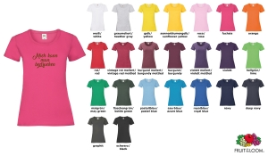 Valuewight T Lady-Fit T-Shirt