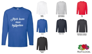 Valueweight  Langarm T-Shirt Men