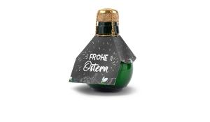 Kleinste Sektflasche der Welt Frohe Ostern, 125 ml