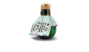 Kleinste Sektflasche der Welt Happy Easter, 125 ml