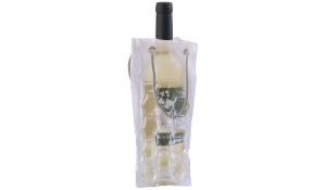 Flaschenkühler Carry&Cool transparent