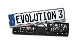 Kennzeichenhalter Evolution 3