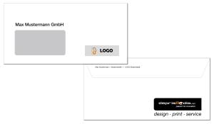 Briefumschläge DIN lang (4-farbig CMYK)