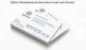 Terminkarten 3 VW Service