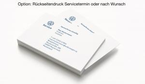 Visitenkarten VW Service