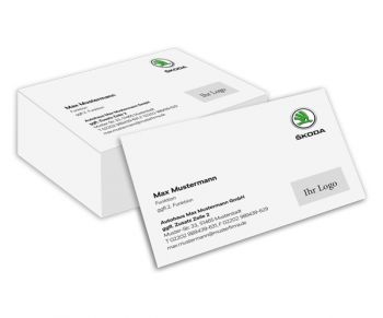 Business Cards Skoda Business Cards Printing Online Shop