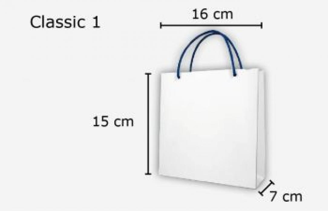 Papiertasche Classic 1