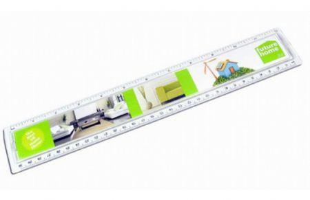 Lineal 30 cm mit Einleger