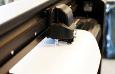 Digitaldruckaufkleber mit Konturschnitt